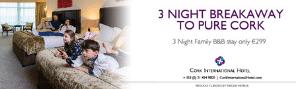 Cork International Hotel Advert