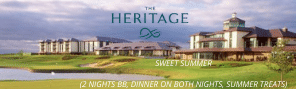 The Heritage Hotel Advert