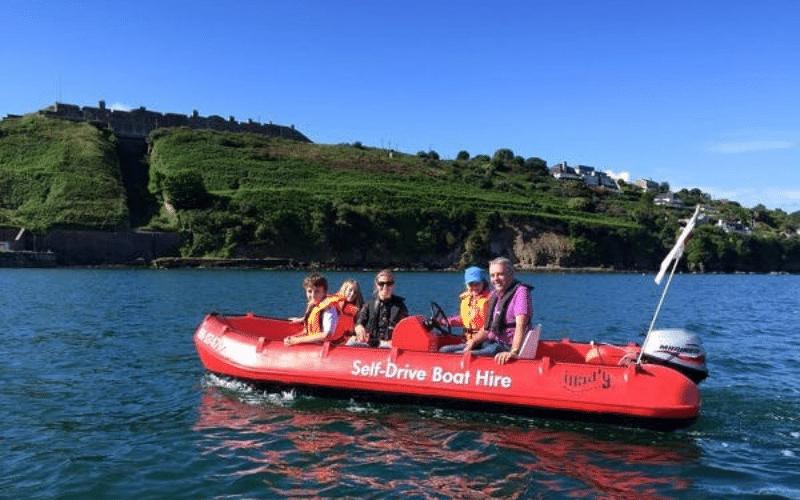 self drive boats cork