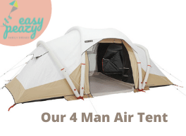 Decathlon Air tent display advert