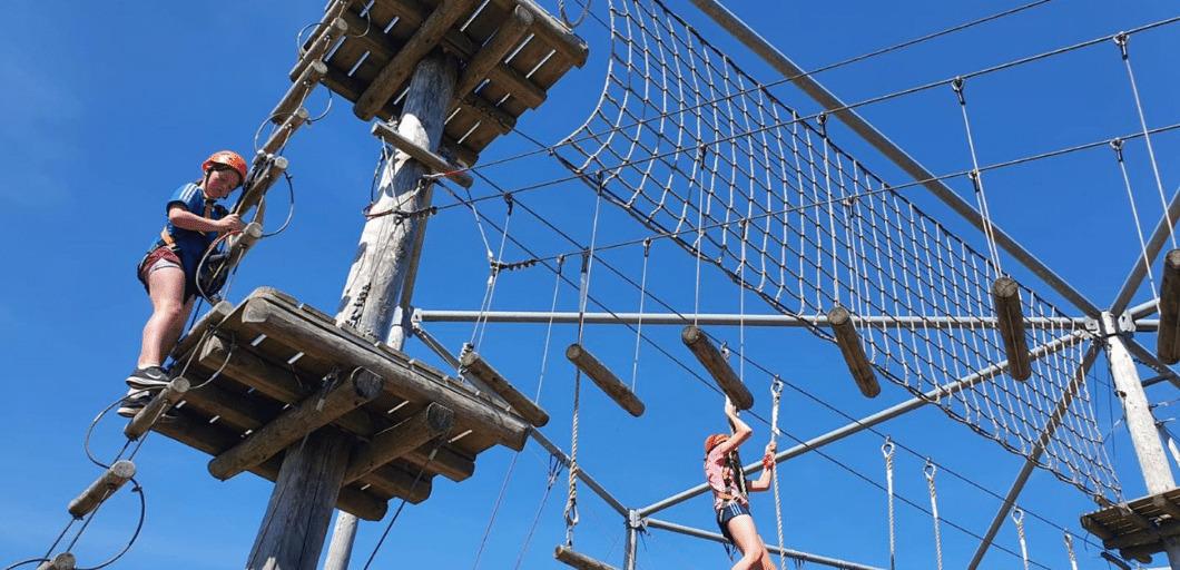 high ropes at IOAC
