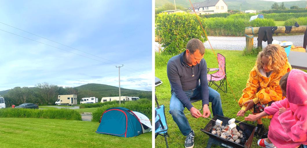 campsites in dingle